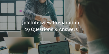 Preparing for a Job Interview with Common Questions